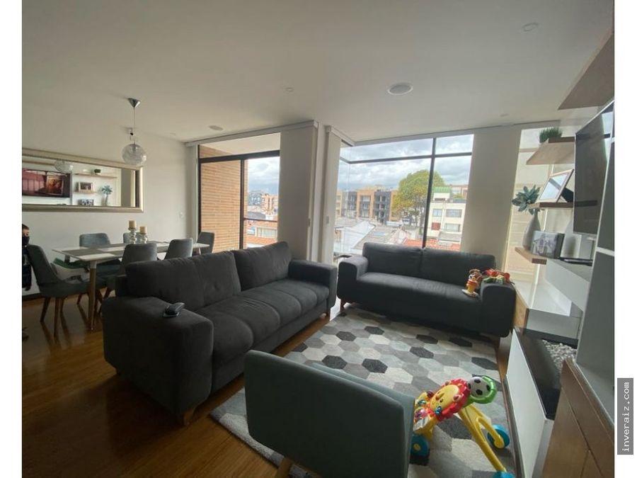 vendo apartamento exterior con balcon nueva autopista ar
