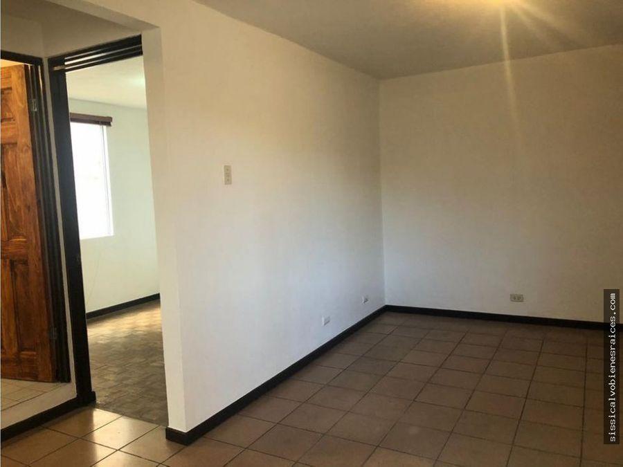 vendo apartamento en curridabat centro del invu