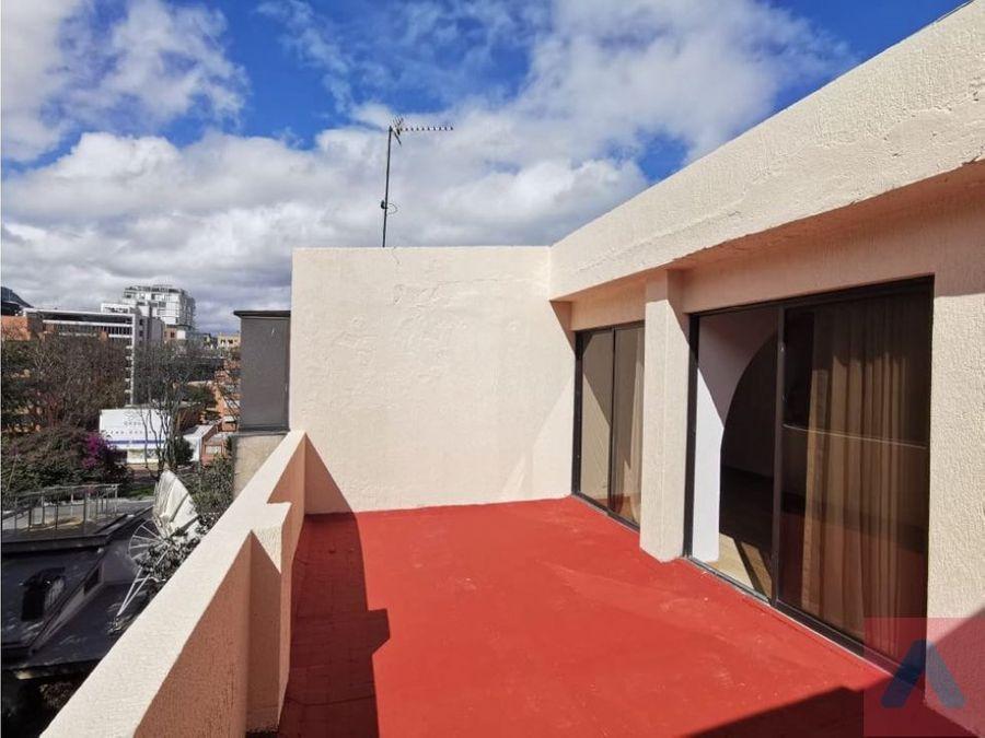 vendo apartamento en chico duplex 3 alcb 4 banos terraza