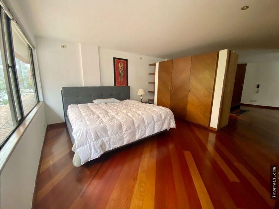 vendo apartamento en la cabrera en frente del andino ar