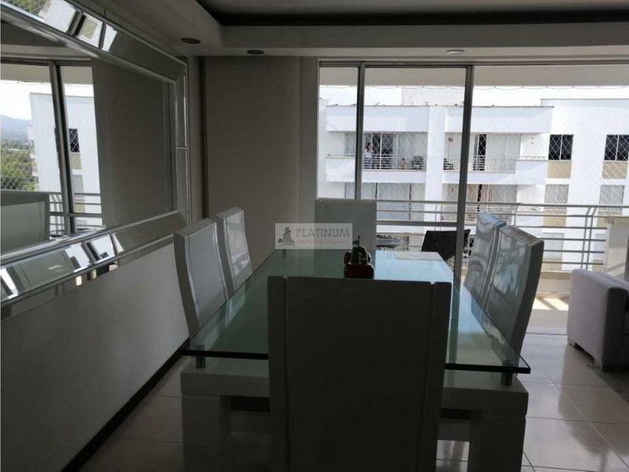 apartamento en venta en la hacienda 8 piso lg