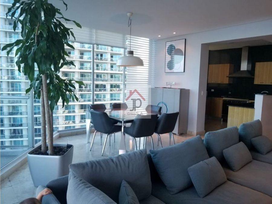 vendo apartamento amueblado vista al mar