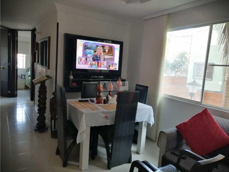 apartamento en venta en condominio en primero de mayo cali lg