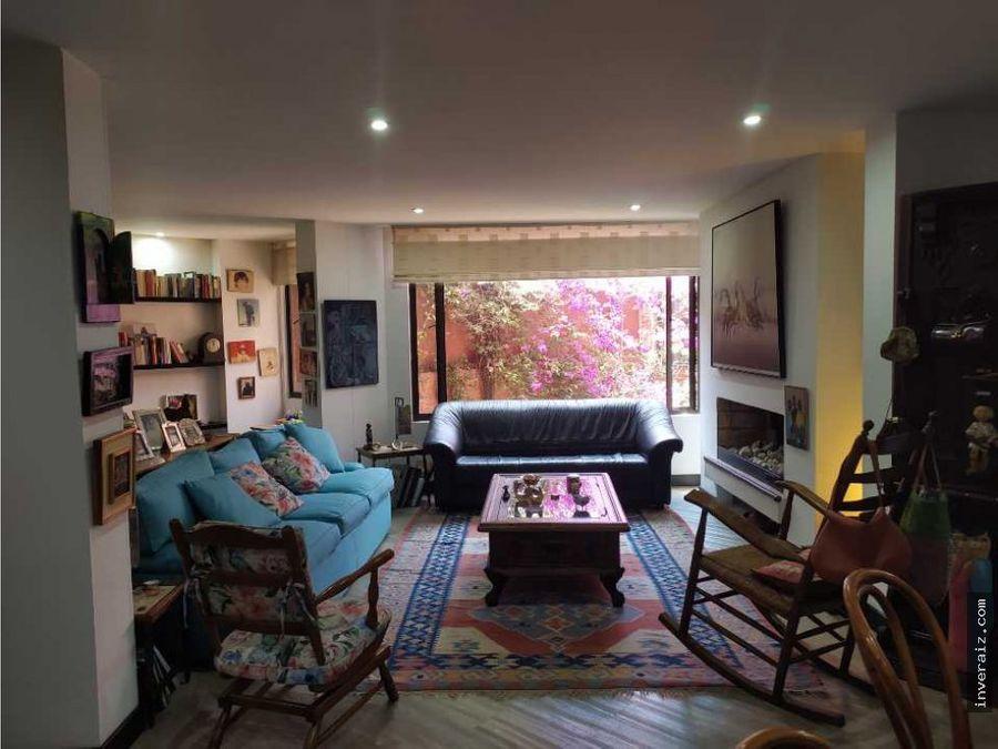 vendo apartamento en santa ana oriental bogota 126mts yg