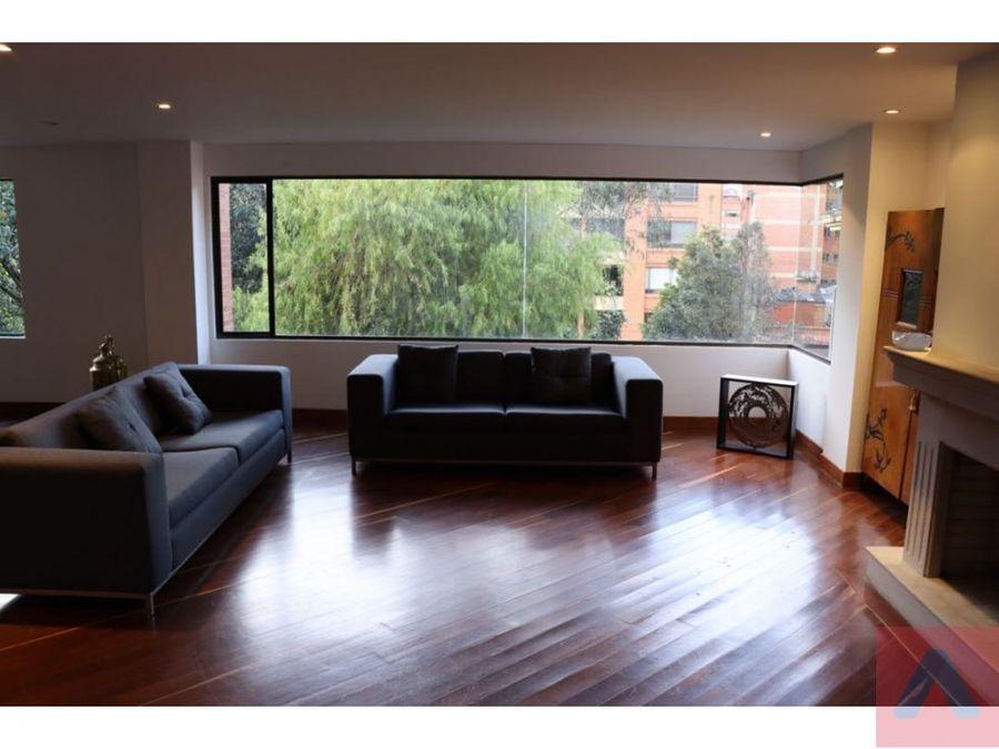 vendo apartamento en santa barbara de 4 alcobas terraza