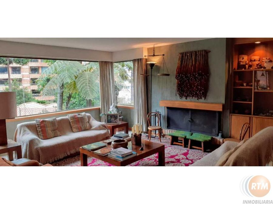 vendo apartamento terraza privada en rosales tres hab tres garajes vm