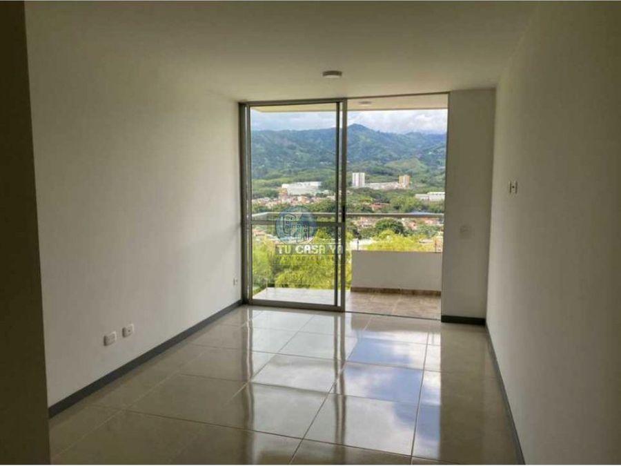vendo apartamento 67m2 para estrenar con hermosa vista y acabados