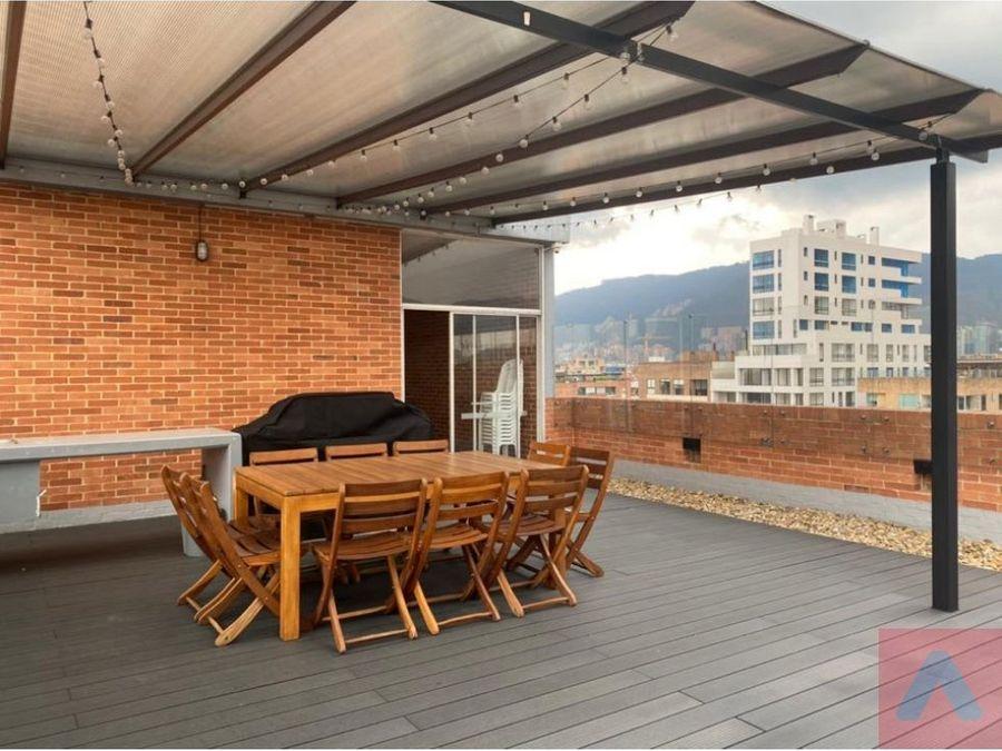 vendo apartamento en san patricio 65 m2 1 alcoba 15 banos loft