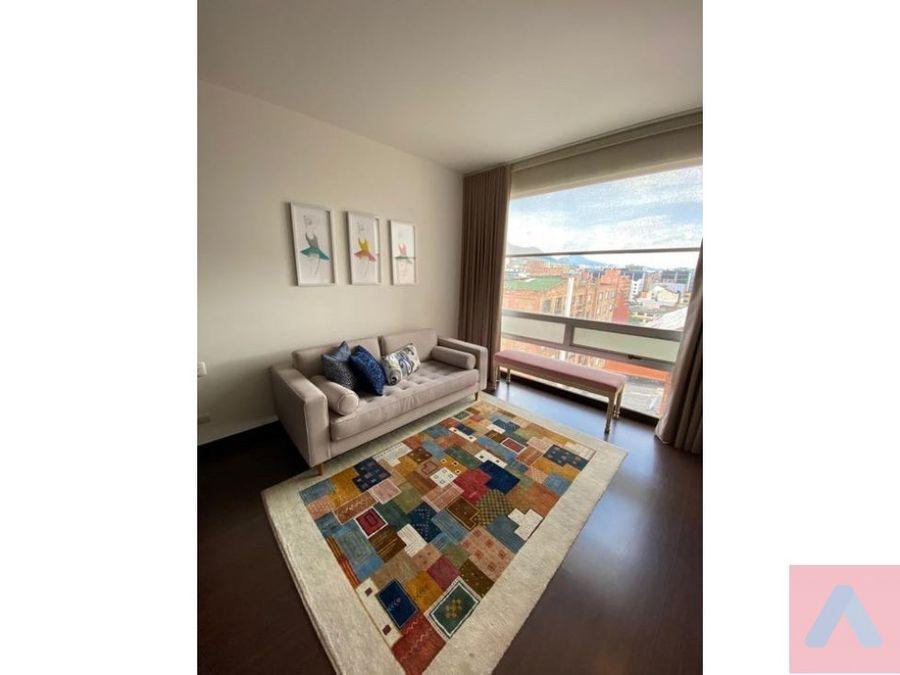 vendo apto en el virrey 11845 m25 m2 de balcon 3 alcobas
