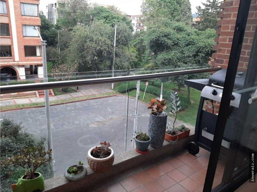 vendo apto santa barbara 90mt balcon parqueyg