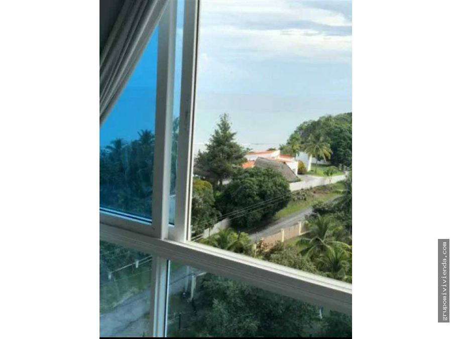 vendo bello apartamento vista al mar en la san carlos