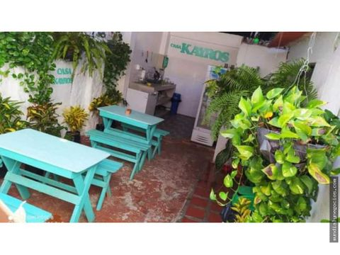 vendo casa comercial sector centro de santa marta 010