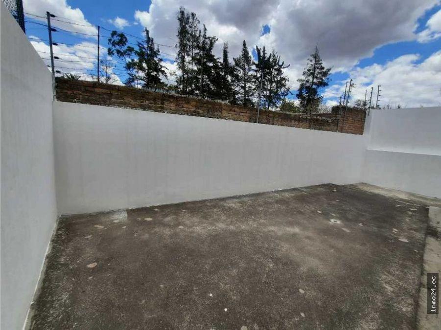 venta casa con patio grande sector norte bonanza calderon