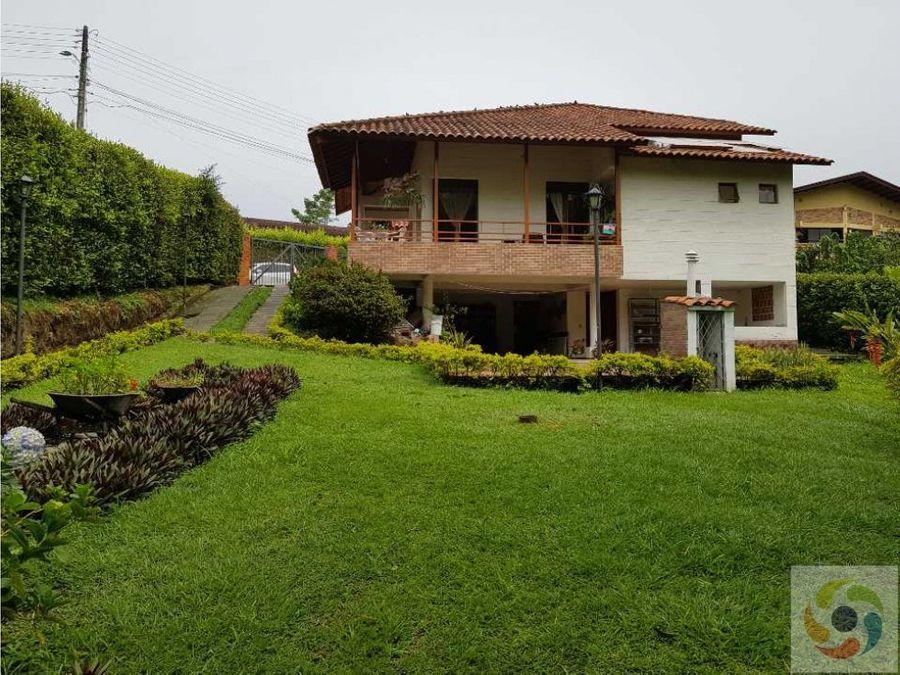vendo casa campestre armenia