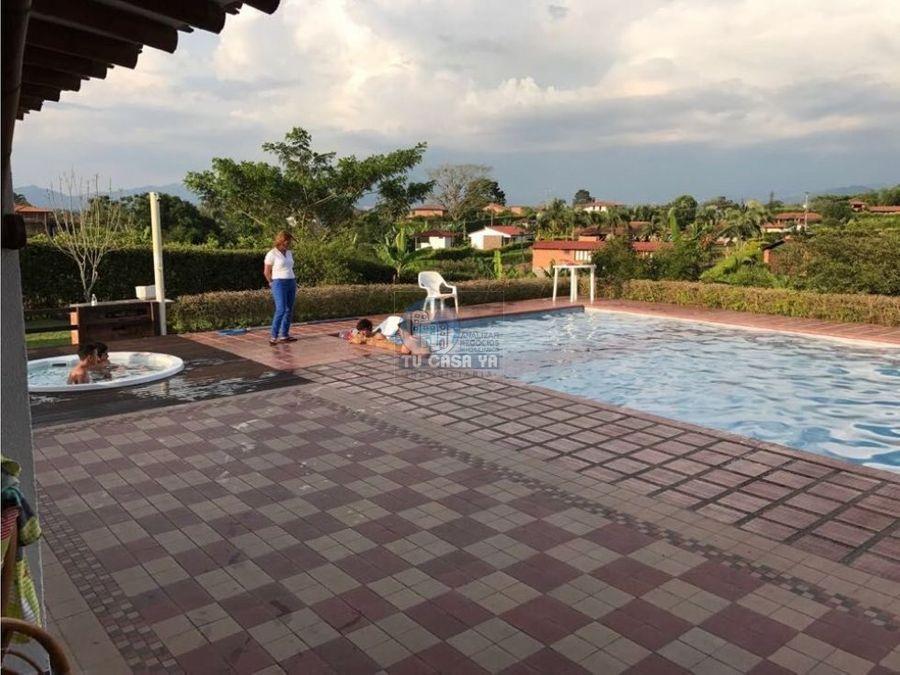vendo casa campestre con piscina privada