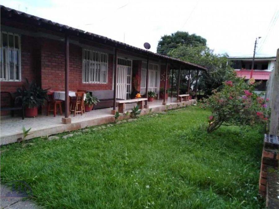 vendo casa campestre via caicedonia armenia