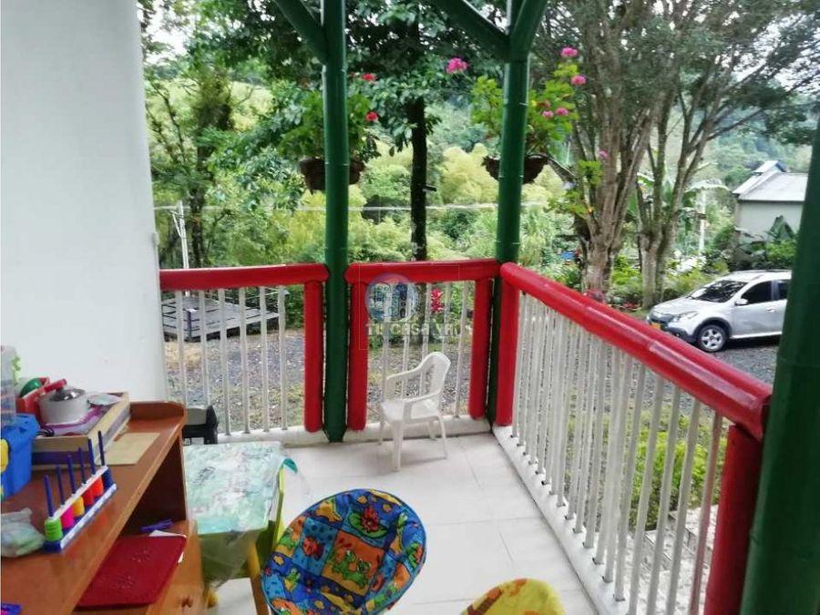 vendo casa campestre ideal para adecuar en eco hotel