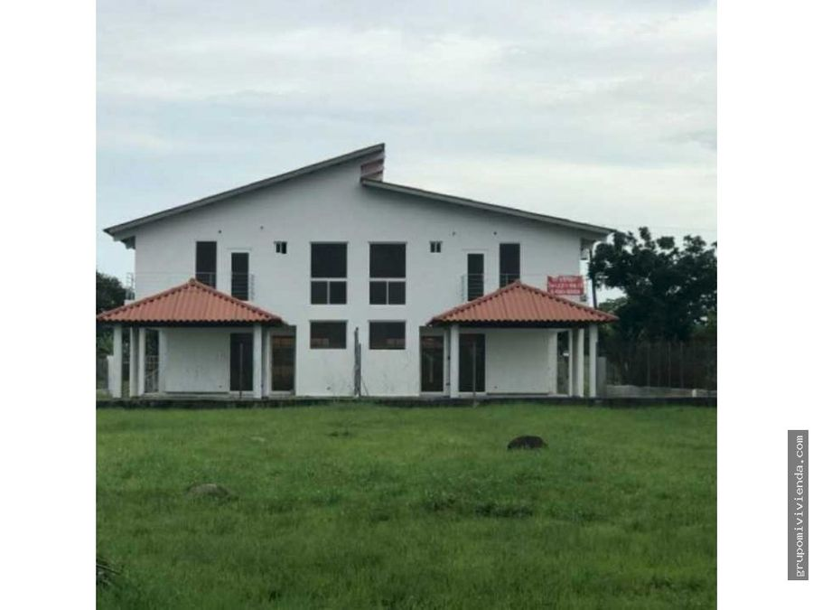 vendo casa a estrenar duplex nueva gorgona