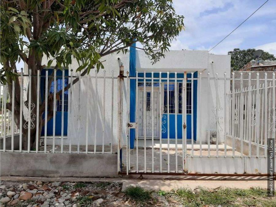 vendo casa barrio villa yanet