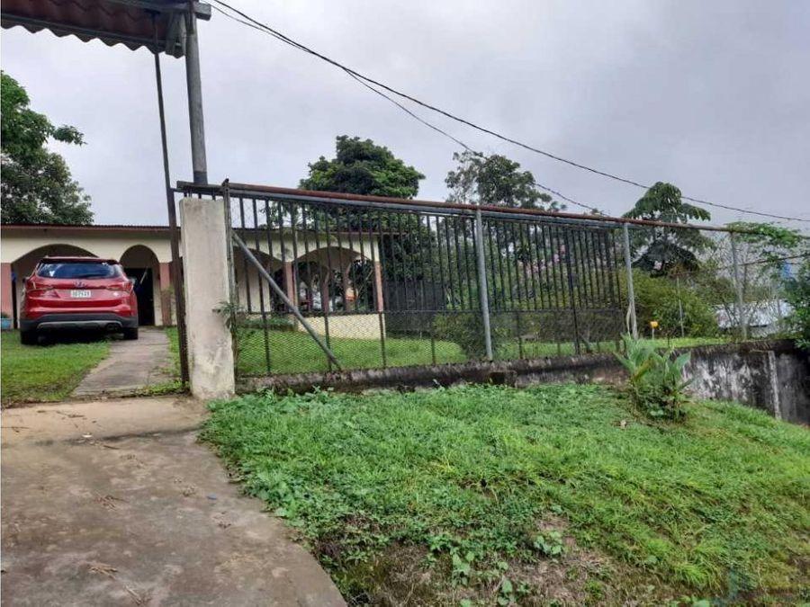 vendo casa de 827m2 titulada rio sereno