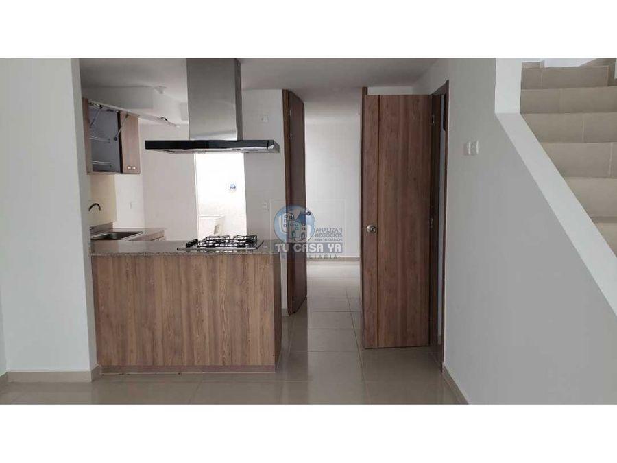 vendo casa de 85m2 en conjunto residencial nuevo de dosquebradas