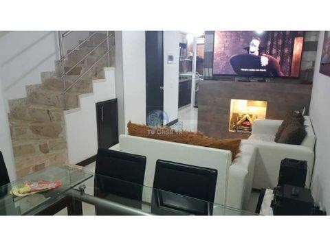 vendo casa duplex 73m2 en conjunto cerrado muy nuevo sector belmonte