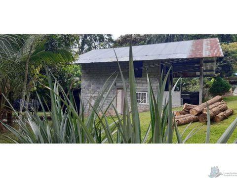 vendo casa en obra gris de 2200m2 santo domingo