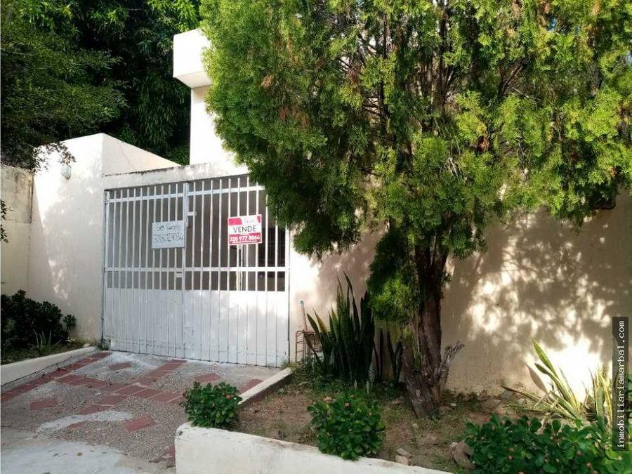 vendo casa en urb tayrona