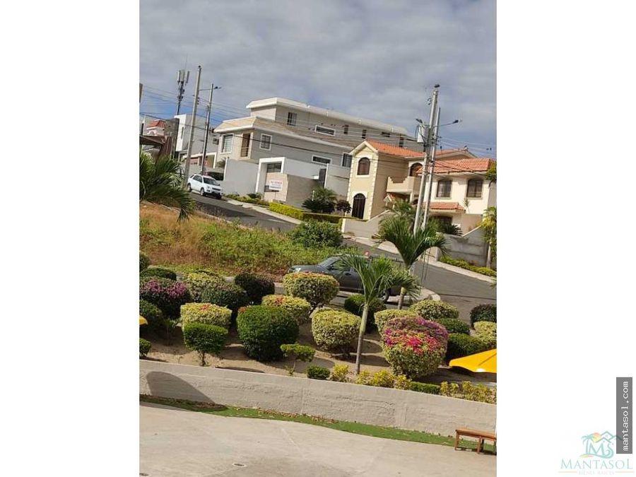 vendo casa en urbanizacion manta beach