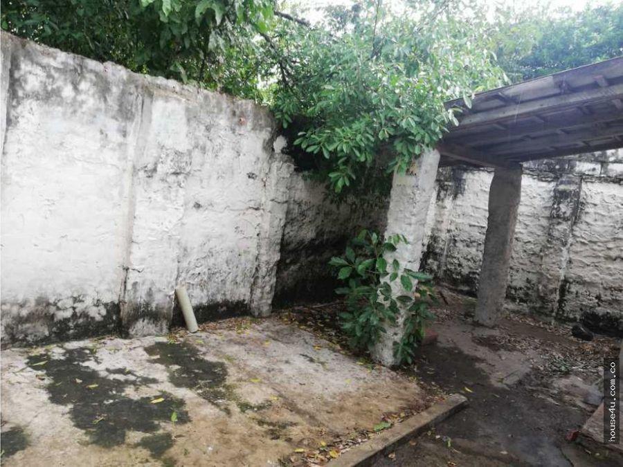 vendo casa lote barrio san jose barranquilla