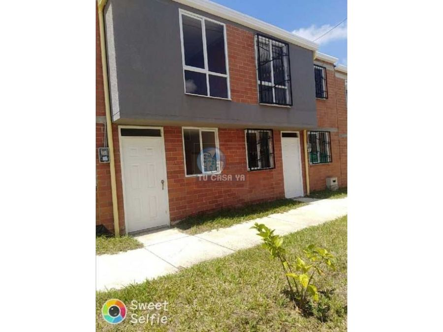 vendo casa para estrenar aplica a subsidio de vivienda
