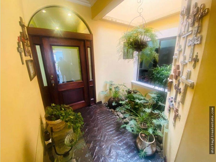 vendo casa una planta en condominio exclusivo belen