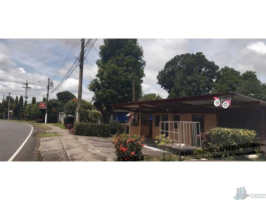 vendo casa y terreno de 323 m2 para comercio