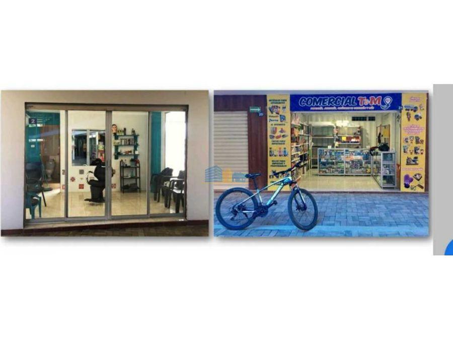 vendo centro comercial ubicado en san vicente manabi