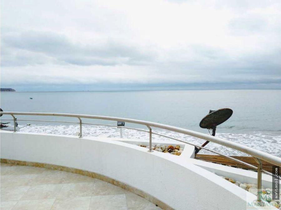 vendo departamento amoblado en ciudad del mar manta