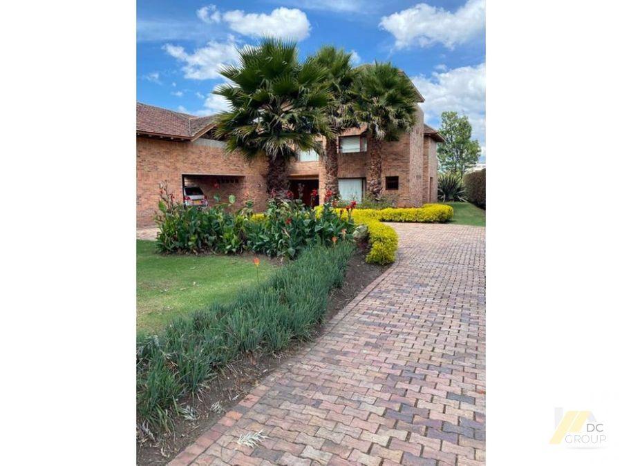 vendo exclusiva casa en san jacinto