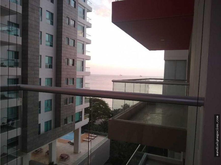 vendo espectacular apartamento salida directa mar bello horizonte ap