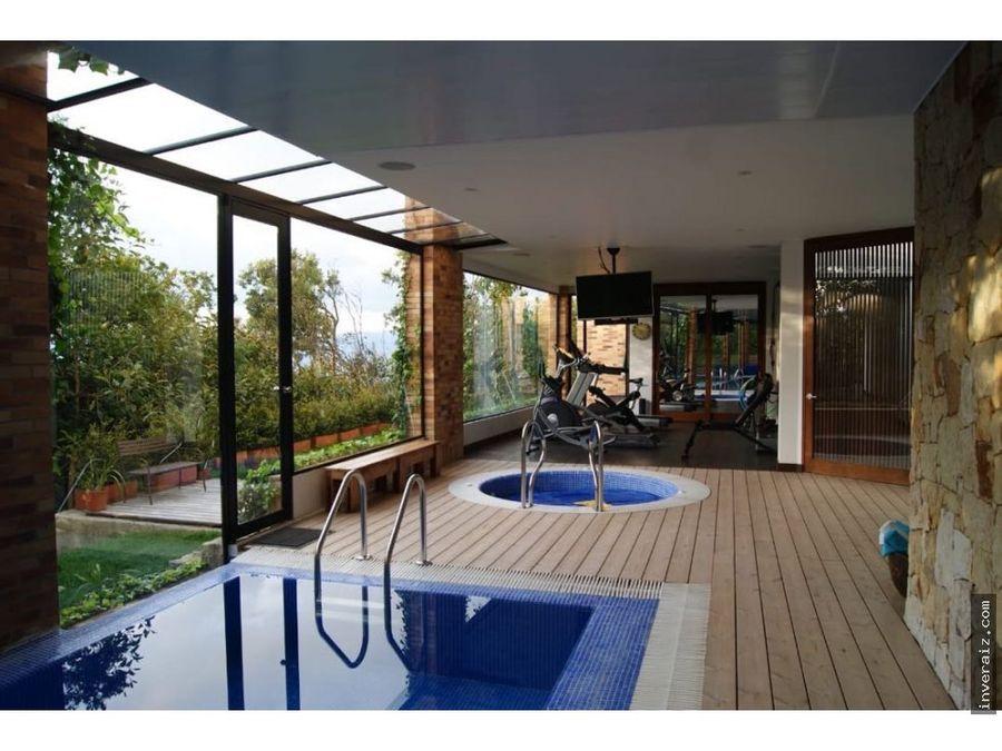 vendo espectacular casa con piscina portal de fusca ar