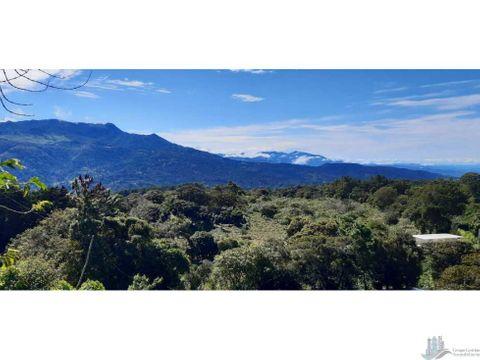 vendo hermoso lote de 3000m2 via volcancito