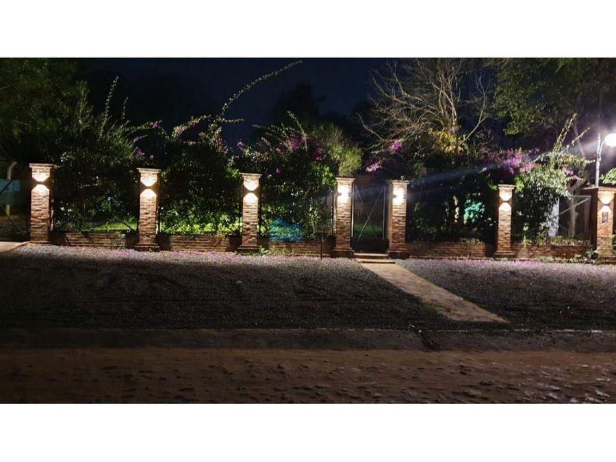 vendo hermosa casa quinta en san bernardino