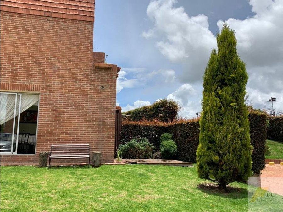 vendo linda casa campestrecon zona verde privada