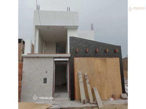 vendo linda casa de 2 pisos base para 4 urb san isidro trujillo