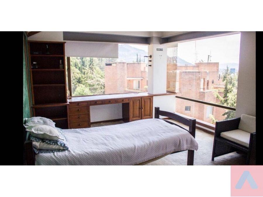 vendo ph bosque medina 496 m2 terrazas 5 habt