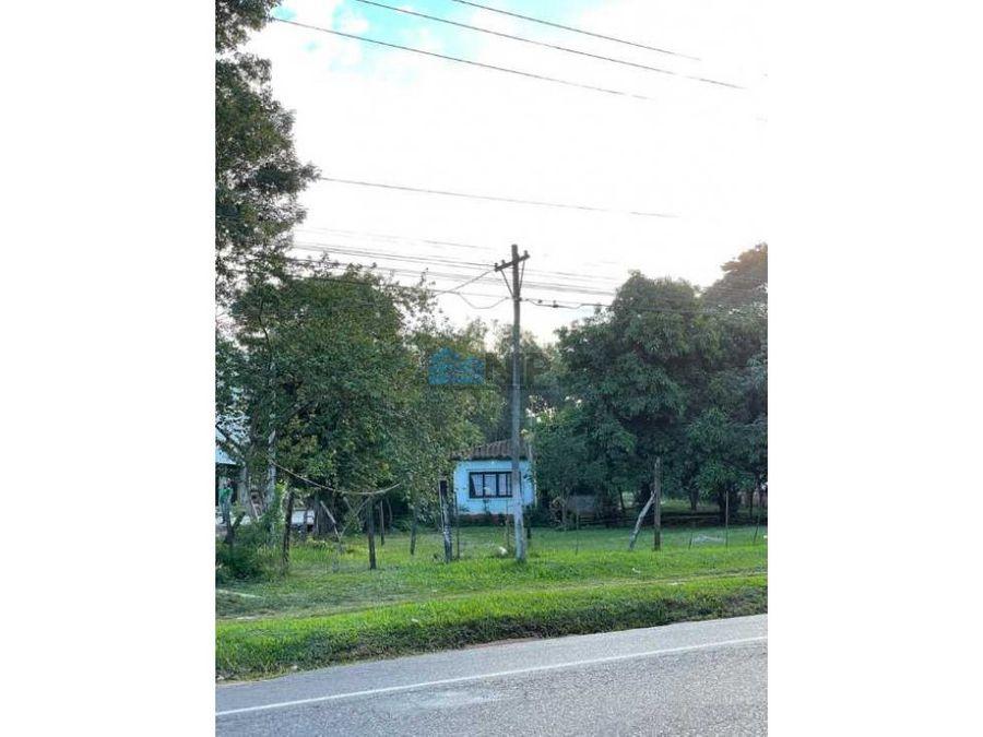 vendo propiedad en capiata ruta 1 km 23