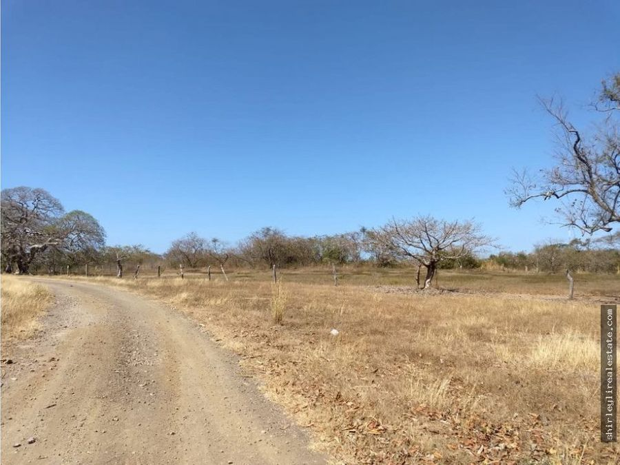 vendo terreno 20 hectareas golfo de papagayo guanacaste