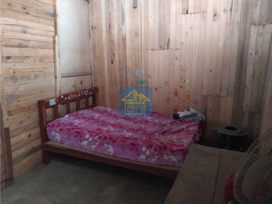 vendo terreno con casa prefabricada kawachi pachatutec