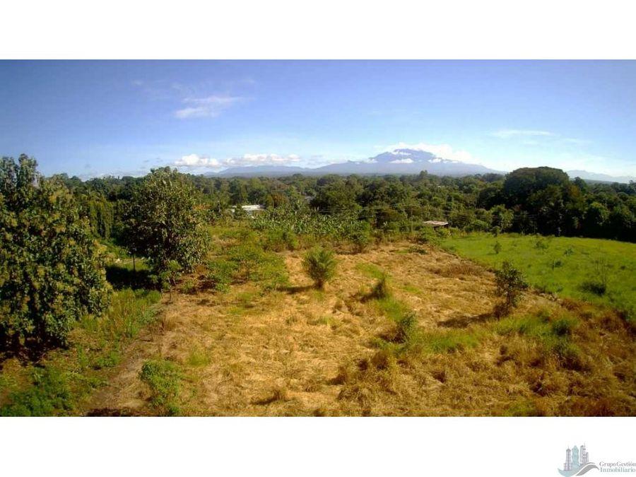 vendo terreno de 3ha en volcan pueblo