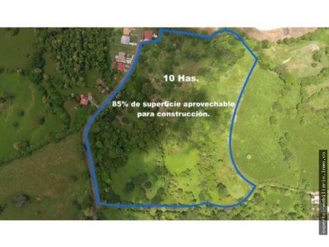 vendo terreno 10 has uso comercial habitacional
