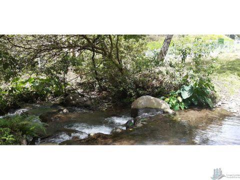 vendo terreno de 25 hectareas con concesion de agua boquete
