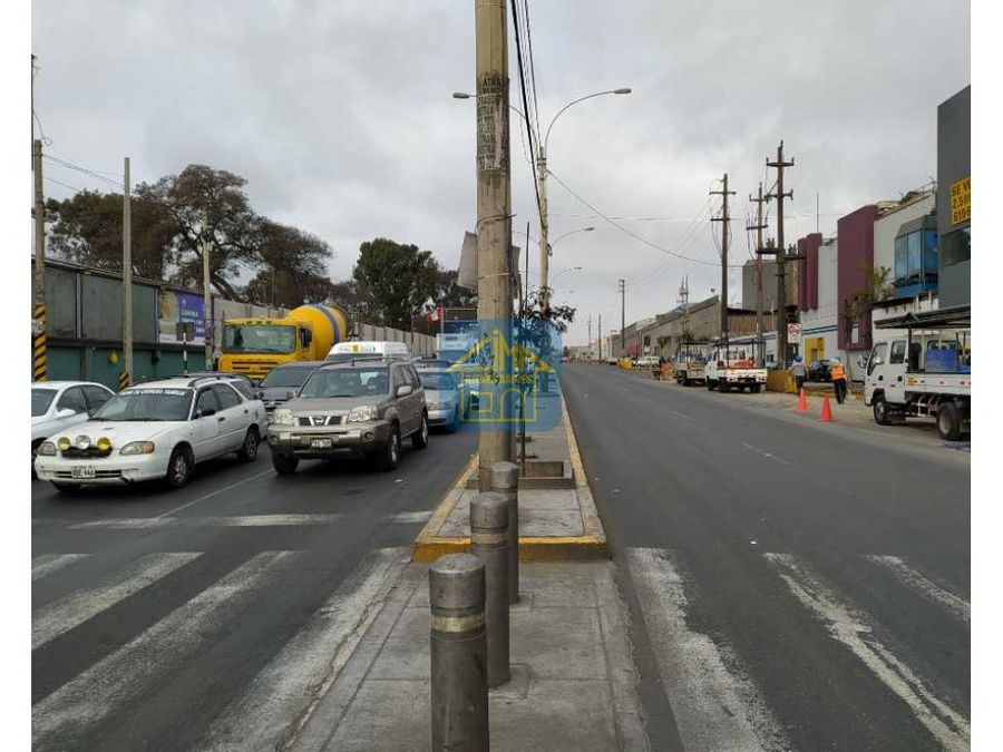 vendo terreno industrial av argentina lima